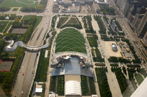millenium park chicago lurie garden
