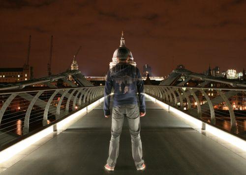 millennium bridge ghost london