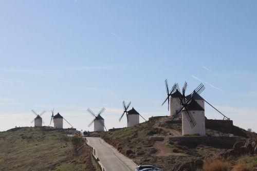 mills consuegra don quixote
