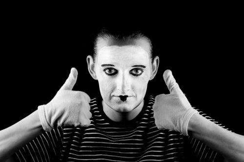 Mime And Thumbs Up