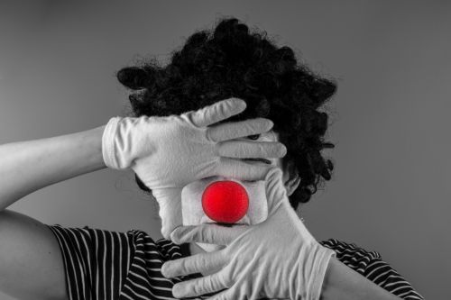 Mime With Red Nose