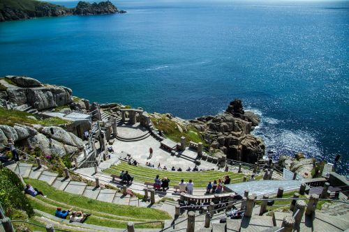 minack theater cornwall south gland