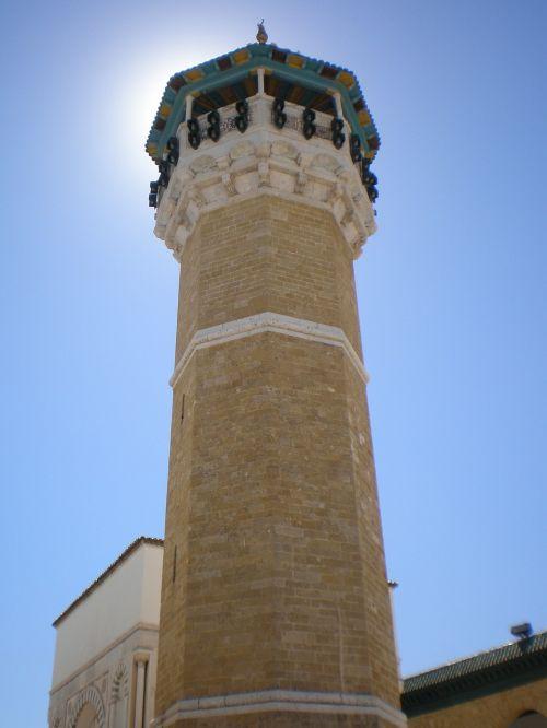 minaret tunisia arabic