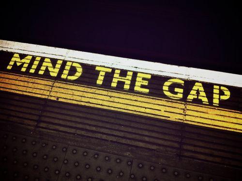 mind the gap london underground