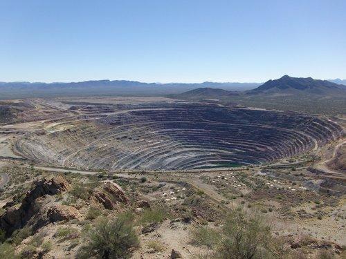 mine  open pit  mining
