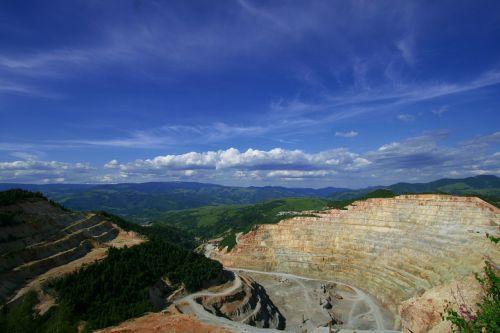 mine mining mining site
