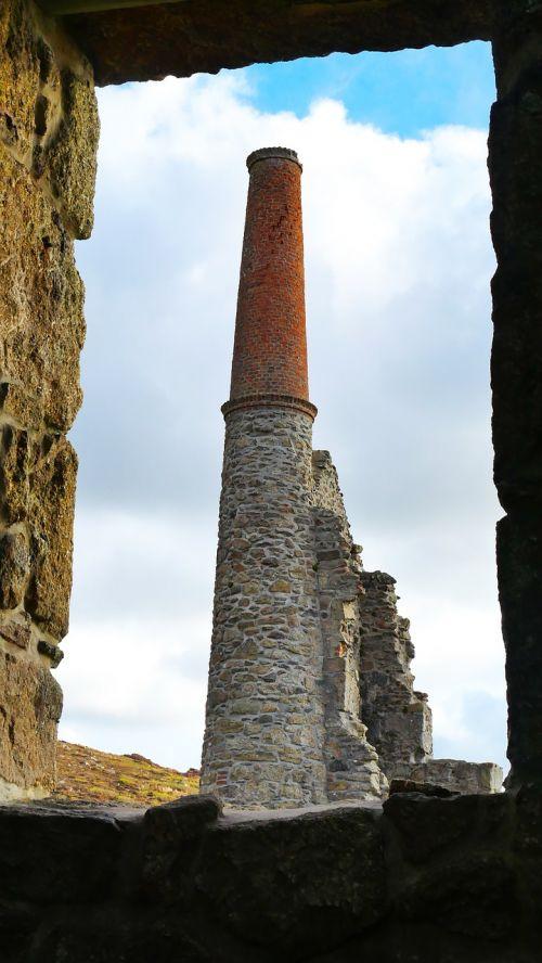 mine tower cornwall mine
