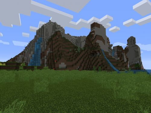 minecraft video game play
