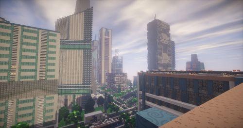 minecraft map city