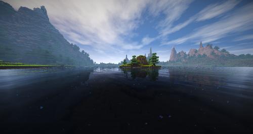 minecraft landscape water