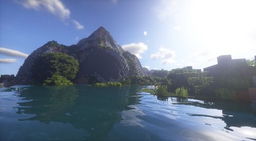 minecraft shader minecraft wallpaper