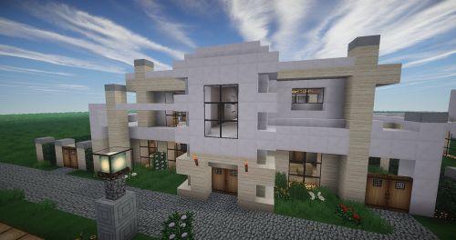 Minecraft,architektūra,moderni architektūra,modernus namas,eksterjeras,diena,priekinis