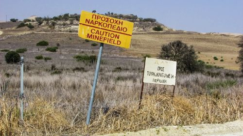 minefield mines danger