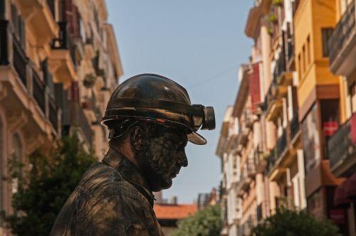 miners mining artists
