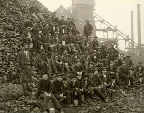 miners workers bergmann