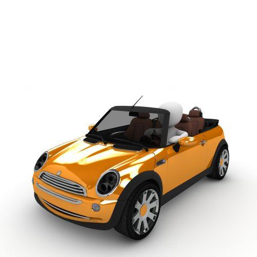 mini convertible driver