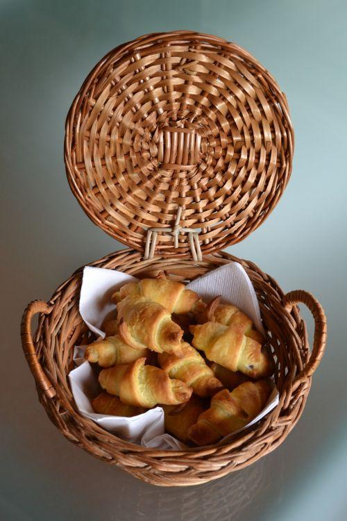 mini croissants nutella taste