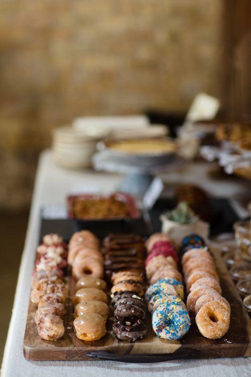 mini doughnuts desserts brunch