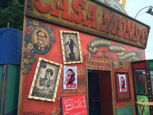 mini theatre theatre entrance parade