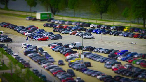 miniature parking vehicles