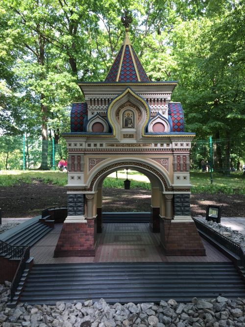 miniature architecture arch