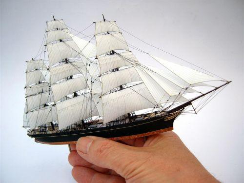 miniature sailing ship