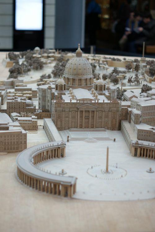 miniature the vatican rome