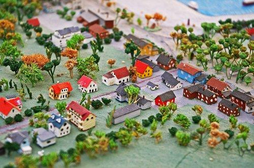 miniature  miniature city  sketch