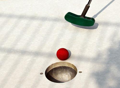 miniature golf mini golf club skill game