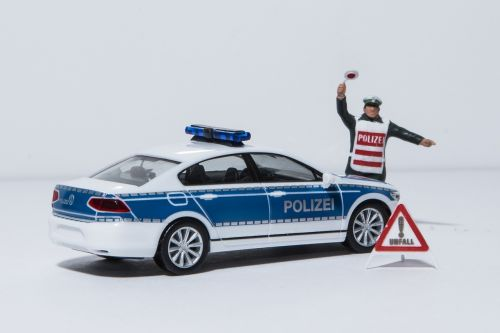 miniature photography police crime