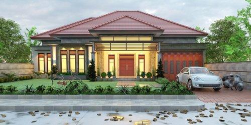 minimalist  ideal house  elegant