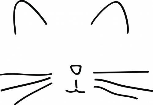 Minimalist Cat Drawing