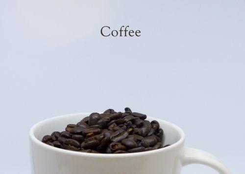 Minimalist Coffee Advertisement