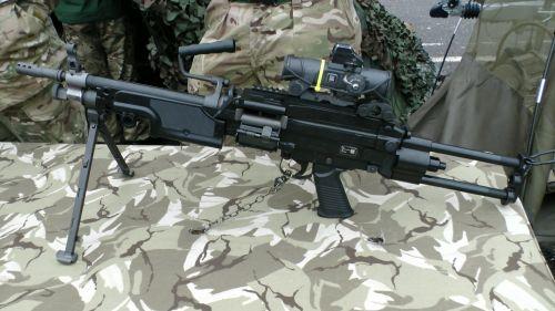 Minimi 5.56x45mm Light Machine Gun