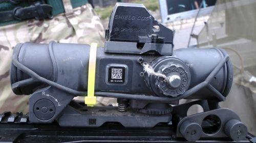 Minimi Light Machine Gun Scope