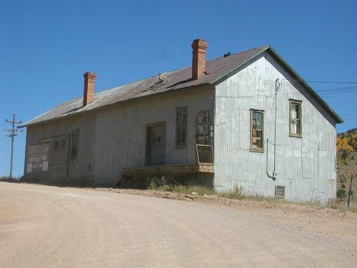 mining building old western mining building colorado