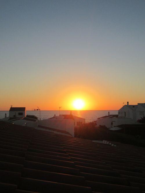 minorca tramonto sunset