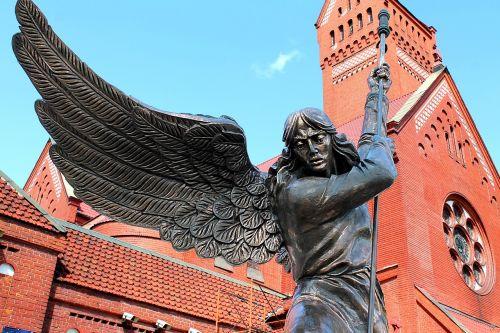 minsk church angel