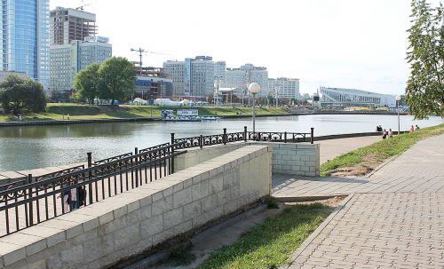 minsk beautiful city river