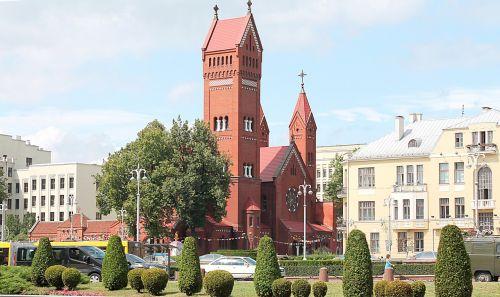 minsk church beautiful view