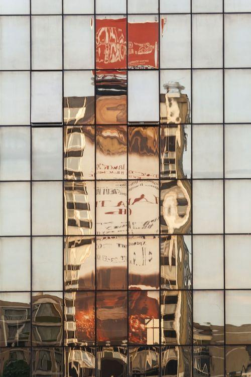 veidrodis,stiklas,pastatas,miestas,atspindys,šiuolaikiška,architektūra,veidrodinis atspindys