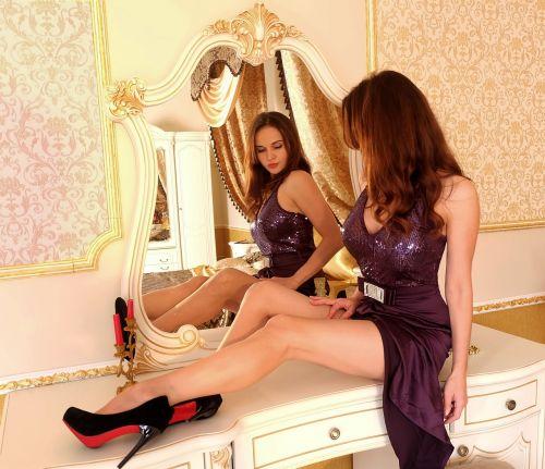 mirror interior toilet table