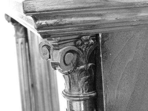 mirror old ornamentation