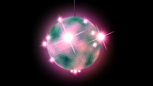 mirror ball disco ball disco