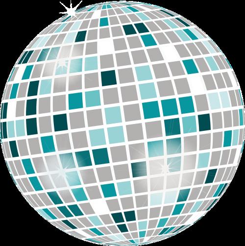 mirror ball disco light effect