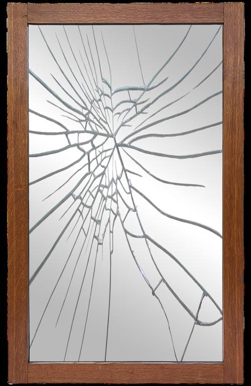mirror frame mirror broken