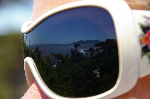 mirroring  glasses  nature