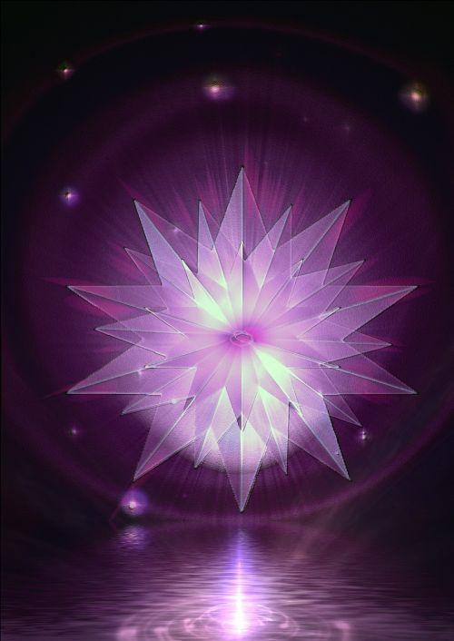 mirroring reflection star