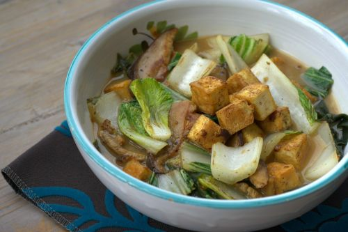 miso soup come tofu