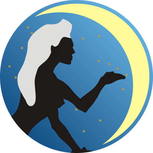 praleisti,Zodiako ženklas,zodiako,mėnulis,žvaigždė,simbolis,įžymybės,ženklas,moteris,mistikas,mergaitė,vyras,nemokama vektorinė grafika